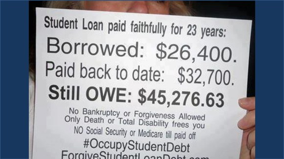USL can end the Student Loan Debt crisis