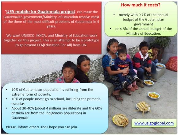 ufa Campaign for Guatemala