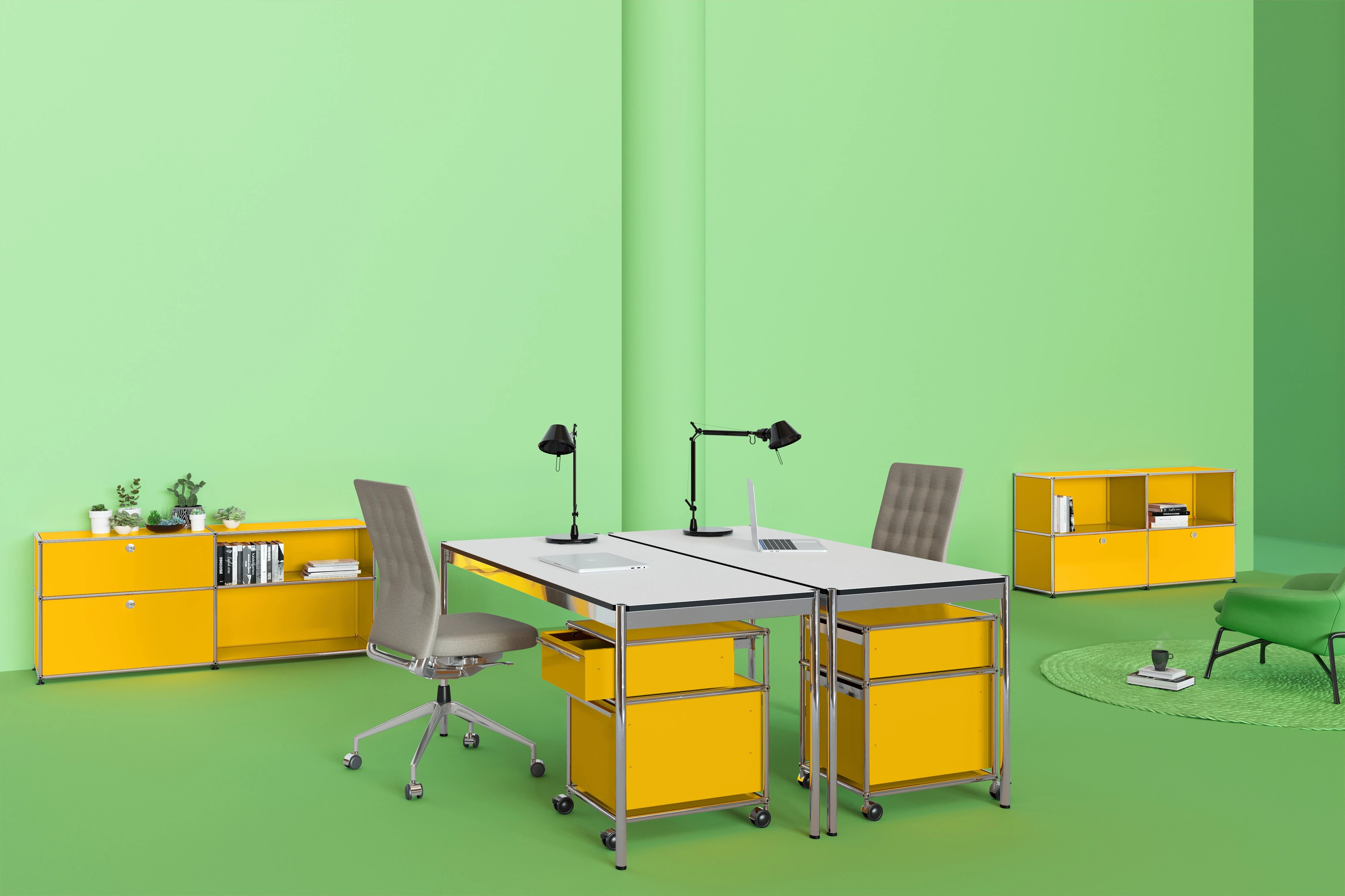 Einrichtung Home Office Usm Modular Furniture Modern Furniture For Home And Office