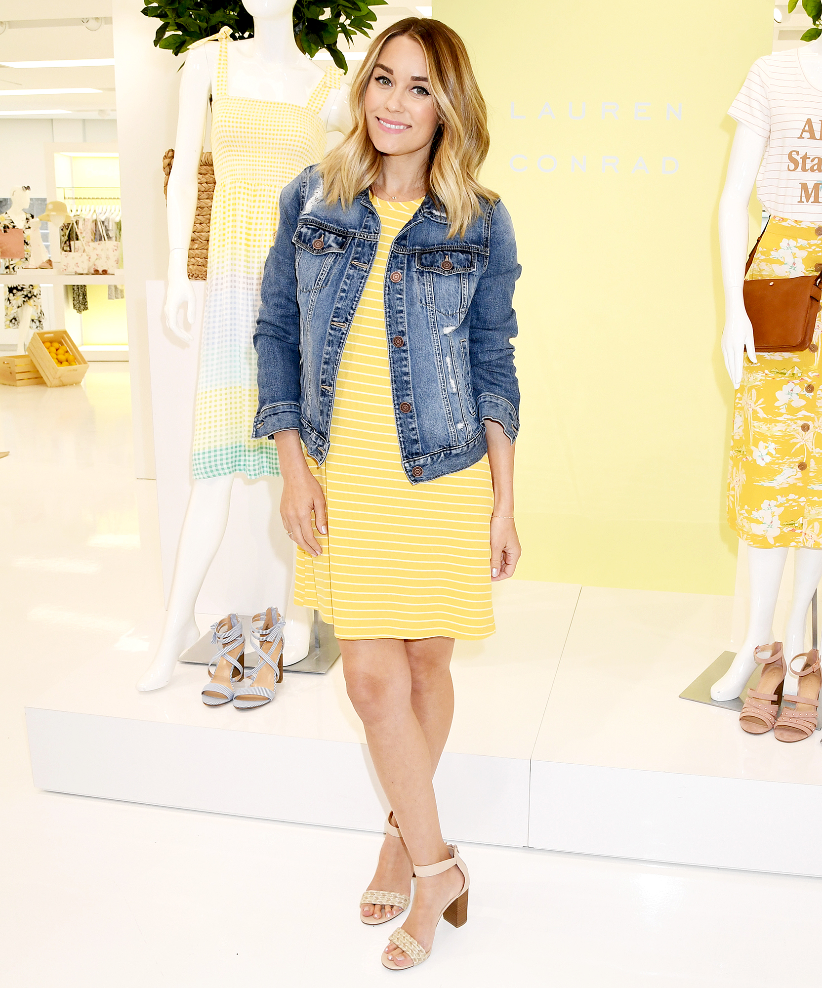 Lauren Conrad Lauren Conrad Shows Baby Bump After 2nd Pregnancy Announcement