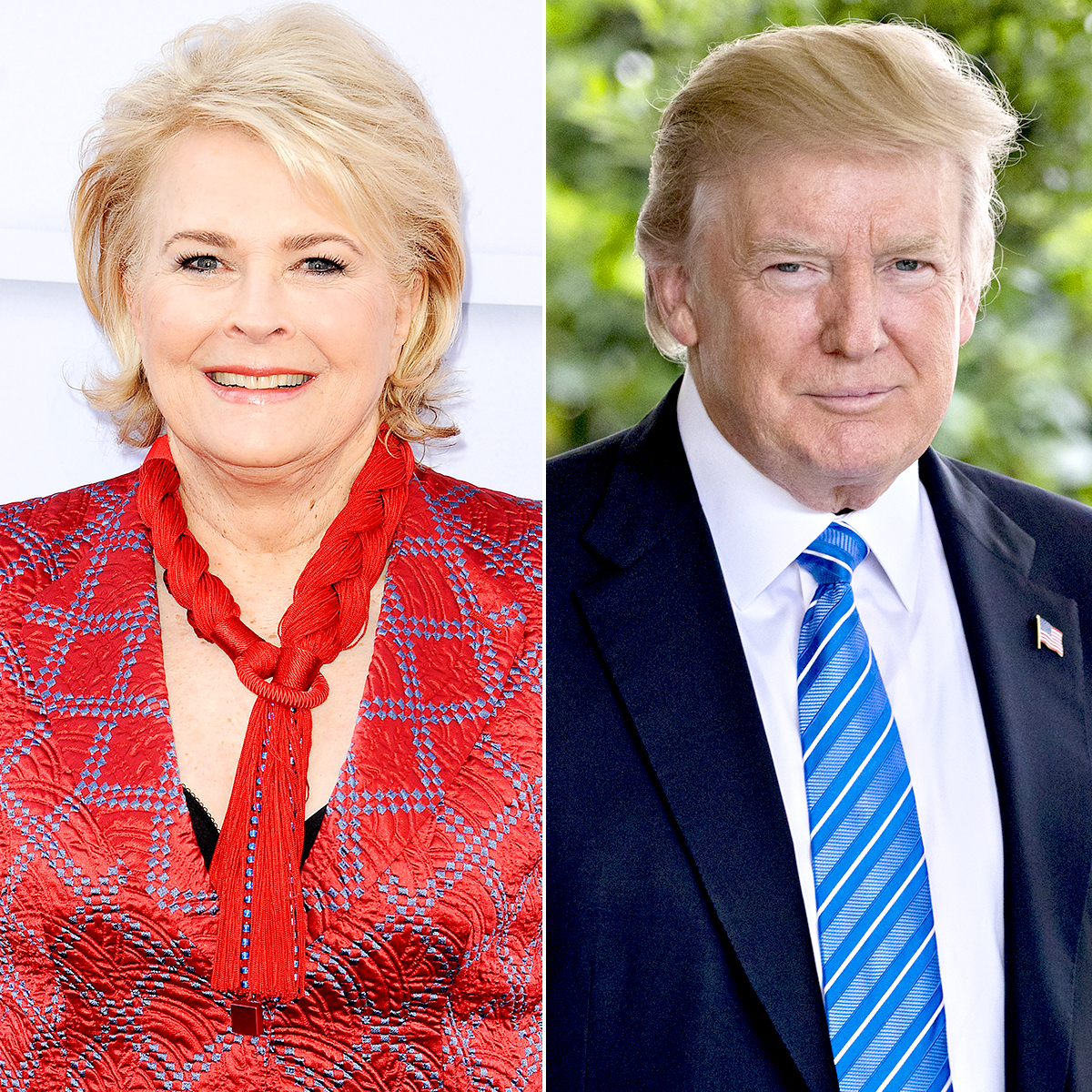 Part Douche Candice Bergen Recalls Date With Donald Trump In College