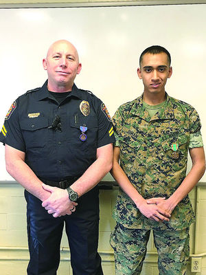 PMO Marine praised as hero after knife fight at Lejeune gate - USMC Life