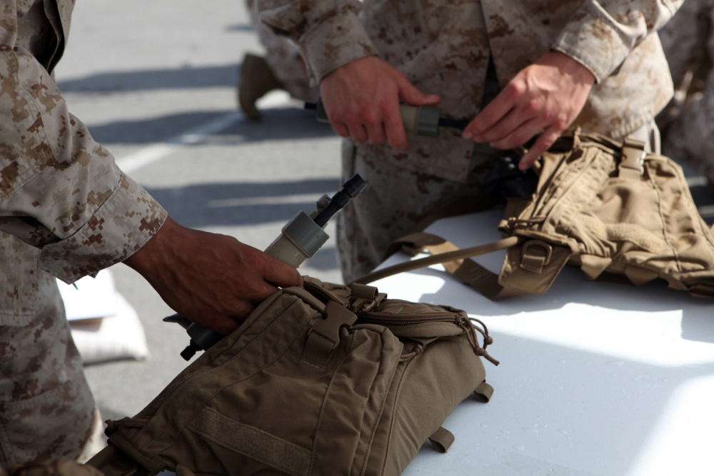 Marines get new upgraded personal water filter for the field - USMC Life