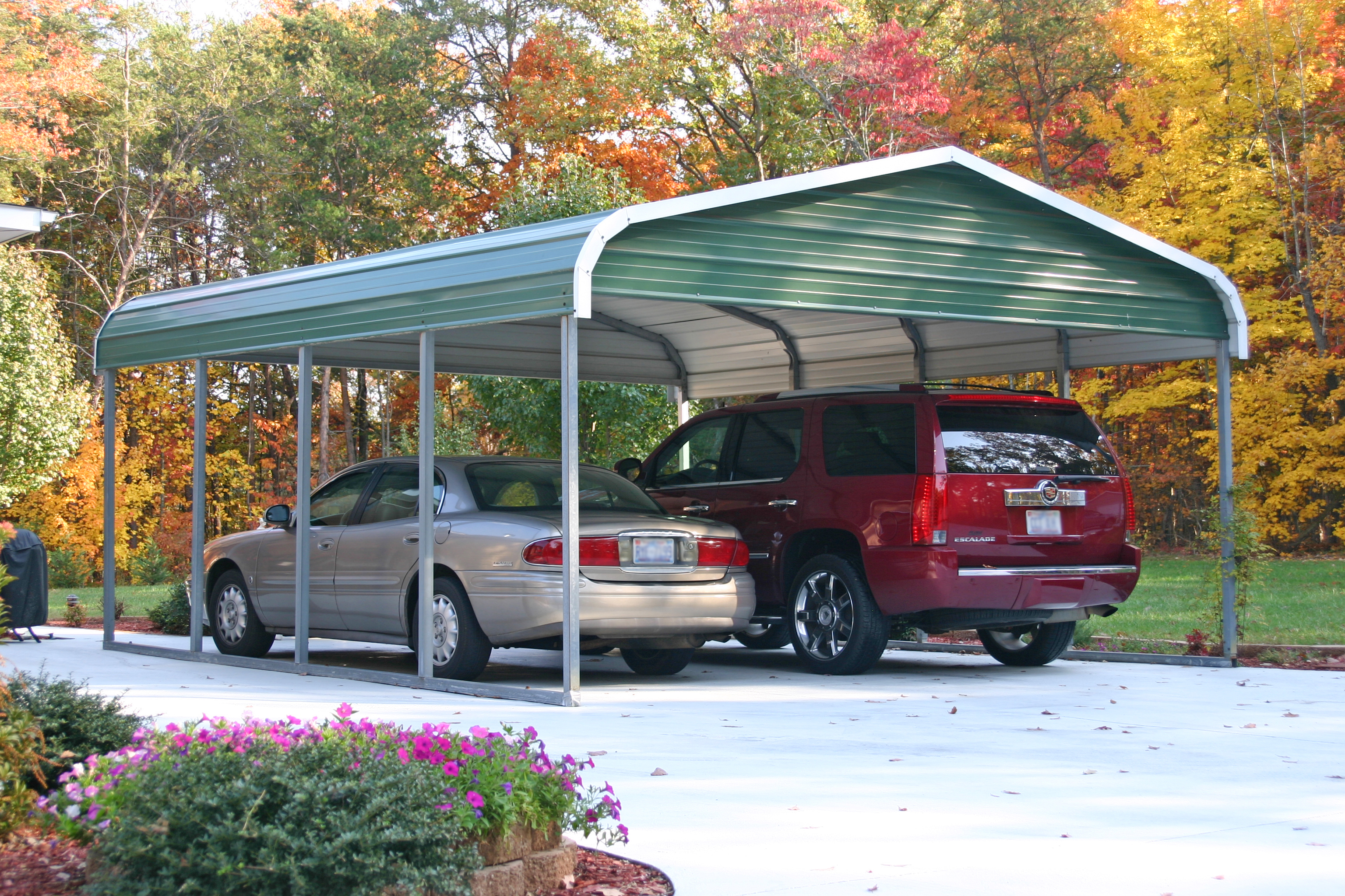 Carports Bilder Steel Carport Kits Do Yourself American Buildings Reviews