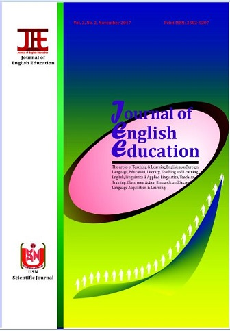Journal of English Education