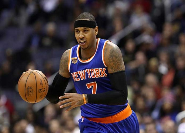Knicks Pause Carmelo Anthony Trade Talks Hire Kings
