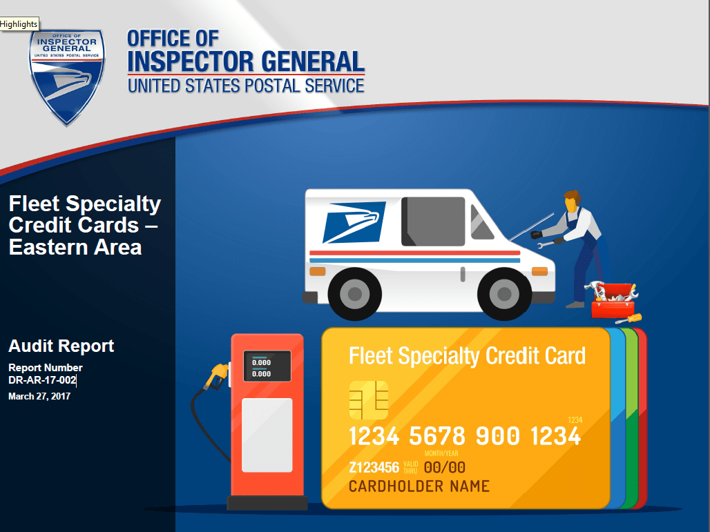 United Credit Card Customer Service Fleet Specialty Credit Cards Eastern Area Usps Office Of