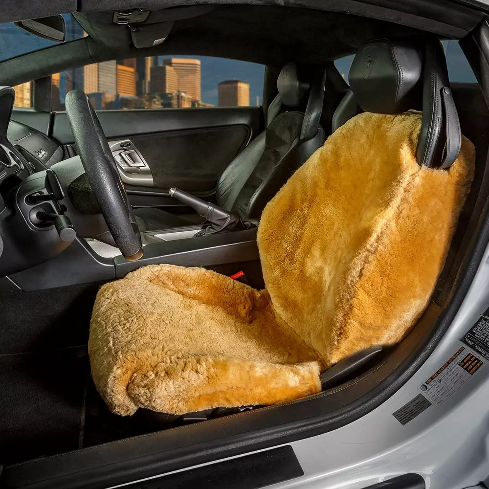 Where Can I Find Seat Covers Sheepskin Seat Covers For Cars Trucks Rv S Us Sheepskin