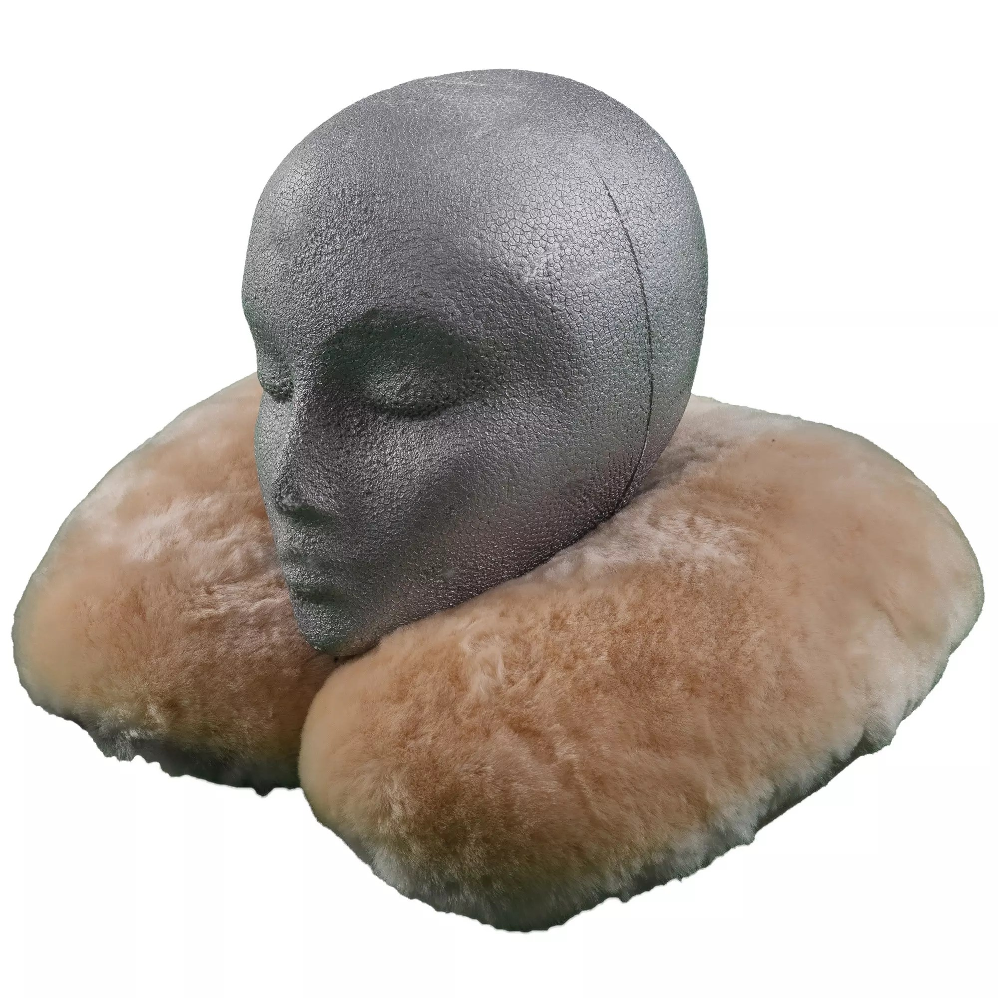 Sheepskin Infant Travel Pillow