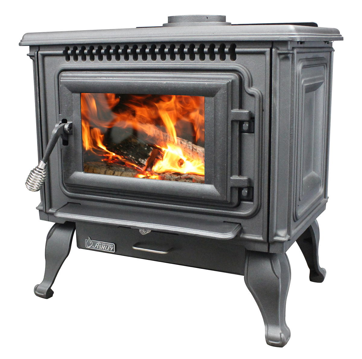 Fireplace Grate Blowers Wood Burning 2 000 Sq Ft Epa Certified Cast Iron Wood Stove With Blower