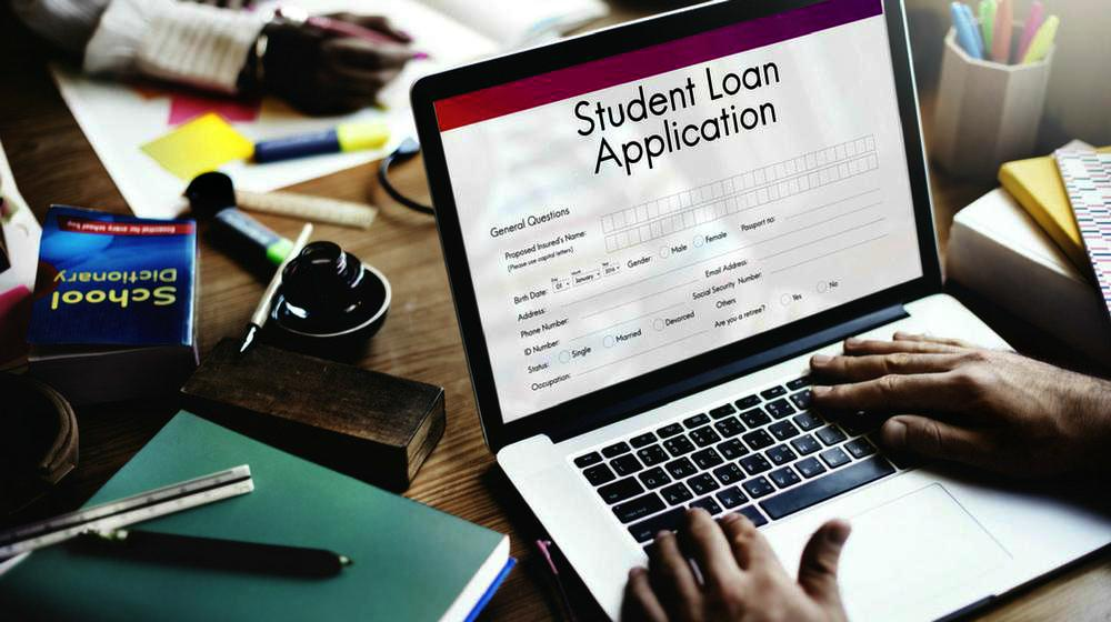 Student-loan-application-form-registration-concept-FAQS-frequently - students loan application form