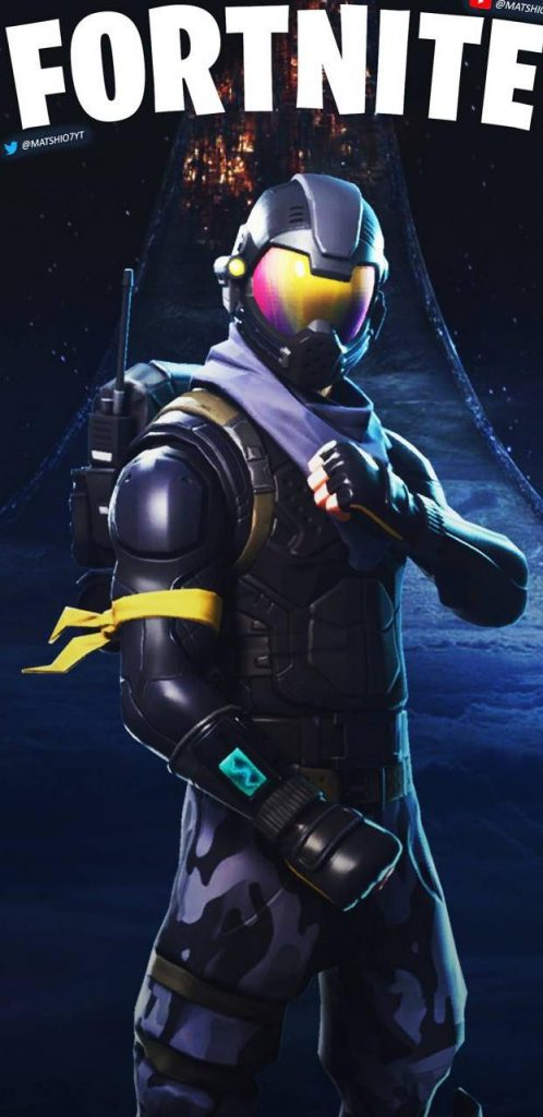 Iphone X Wallpaper Notch Fortnite Wallpapers For Notch Infinity Display