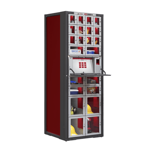 A Breakthrough In Industrial Vending Technology. Configures On The Fly.