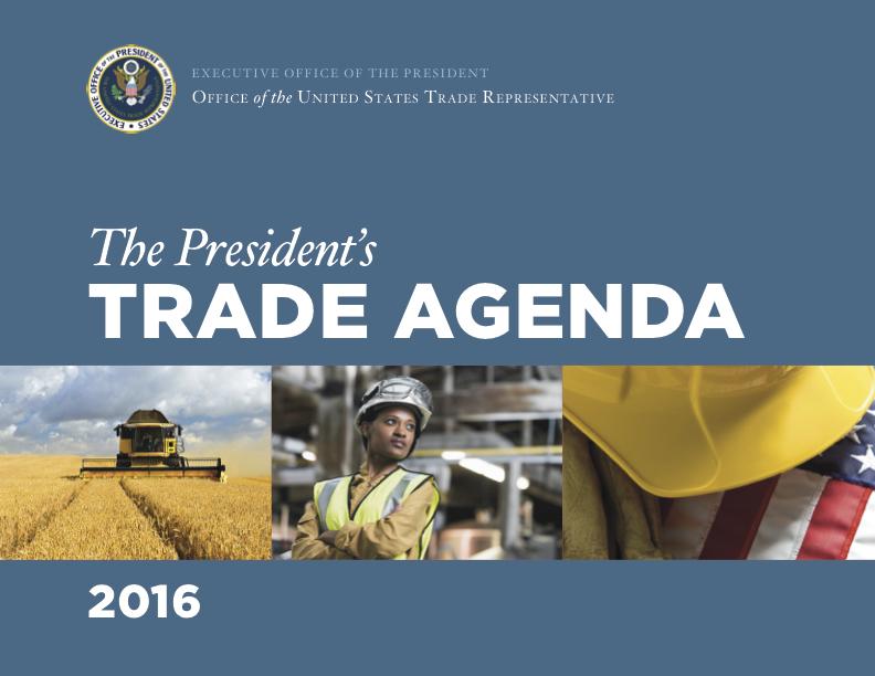 2016 Trade Policy Agenda and 2015 Annual Report United States