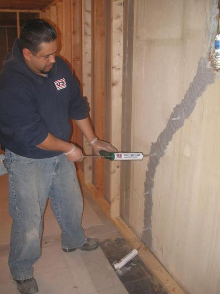 Epoxy Injection Why Epoxy Injection Foundation Crack Repairs U S Waterproofing