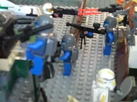 This is my awsome lego star wars base