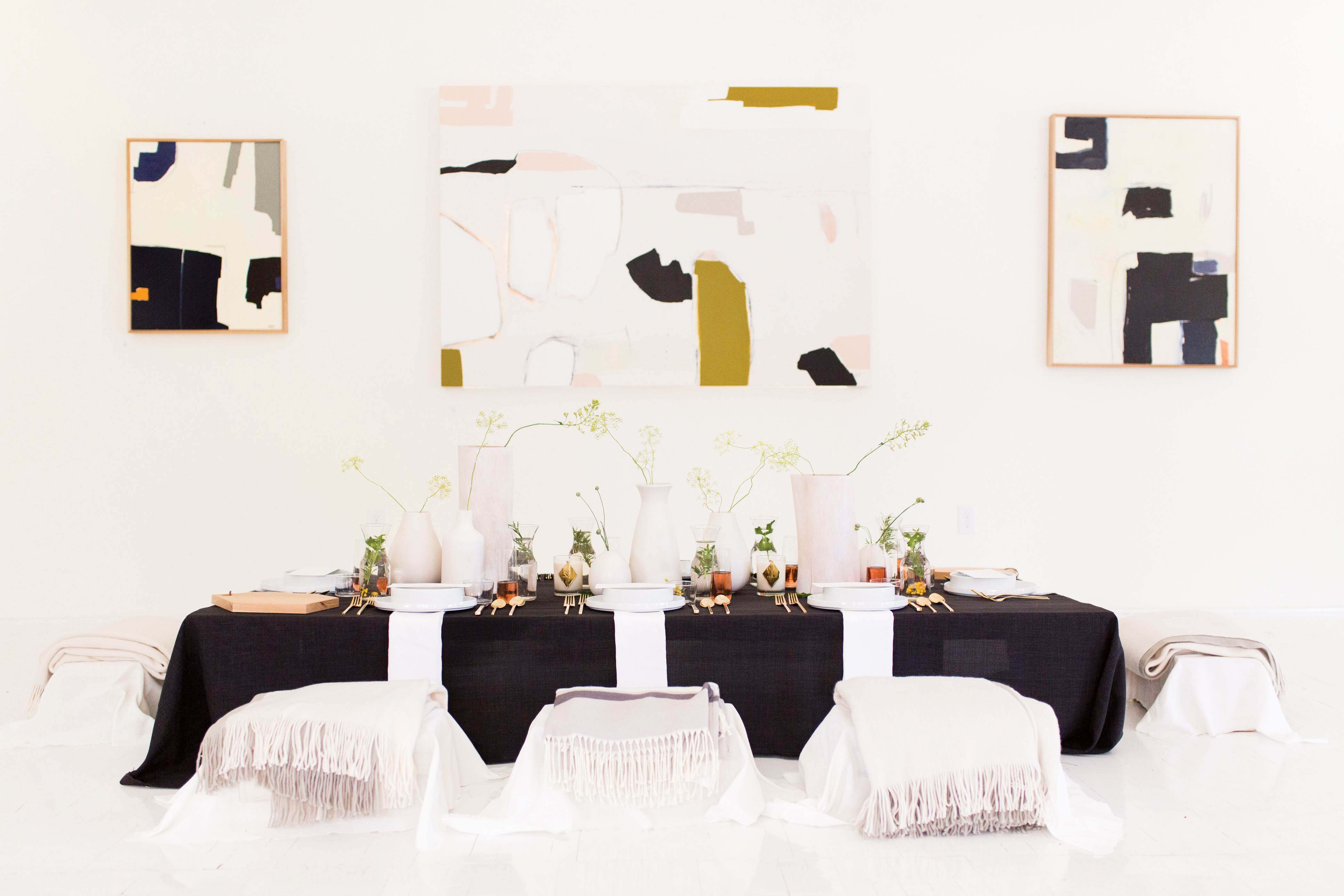 Arte Haus Collectif The New Nordic A New Mantra For Minimalist Parties Utah Bride