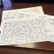 Compliment Cards: A New Piano Recital Tradition