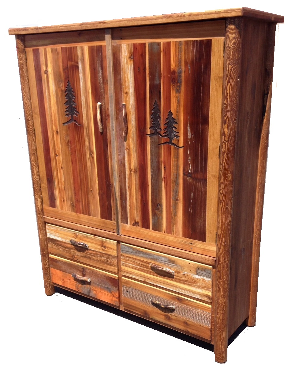 Dimension Armoire Bradley S Furniture Etc Rustic Armoires