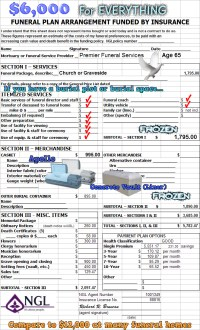 Pictures Funeral Planning Worksheet - Roostanama