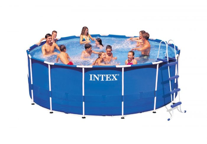 Frame Pool Rund 300 X 100 Above Ground Swimming Pool Clearance Super Hot Intex