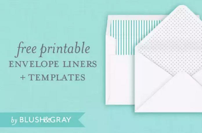 4 Free Printable A7 Envelope Templates Utemplates