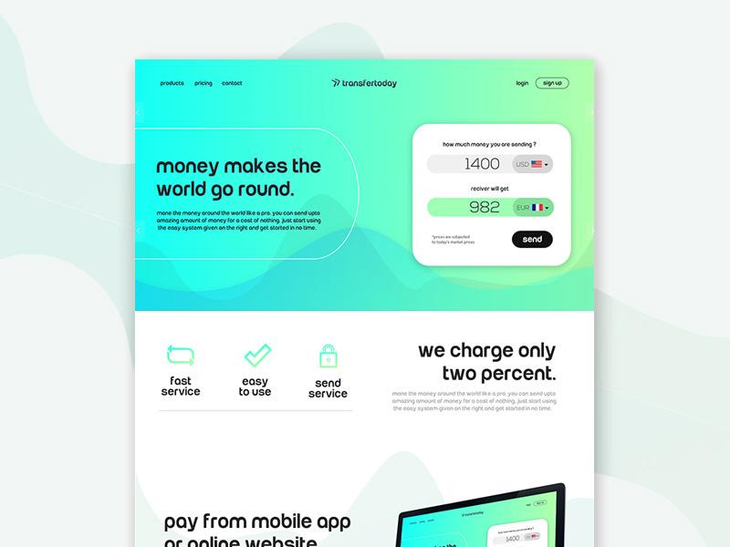 75+ Free App  Landing Page PSD Web Templates UTemplates - Free App Template