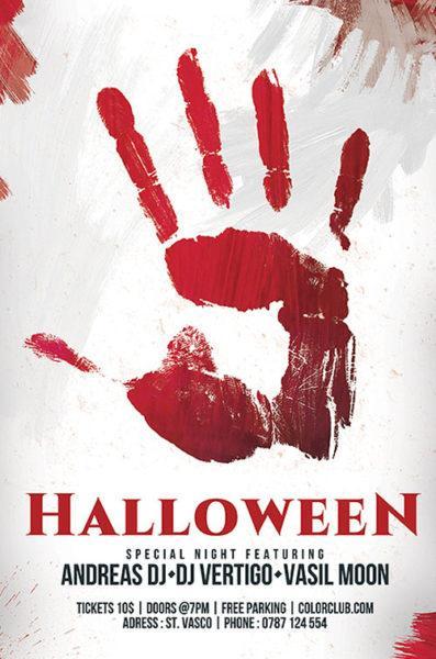 20+ Free Halloween Flyers PSD Templates UTemplates - halloween flyer template