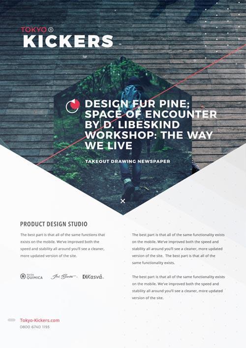 80 Creative  Modern Free Business Flyers Templates UTemplates