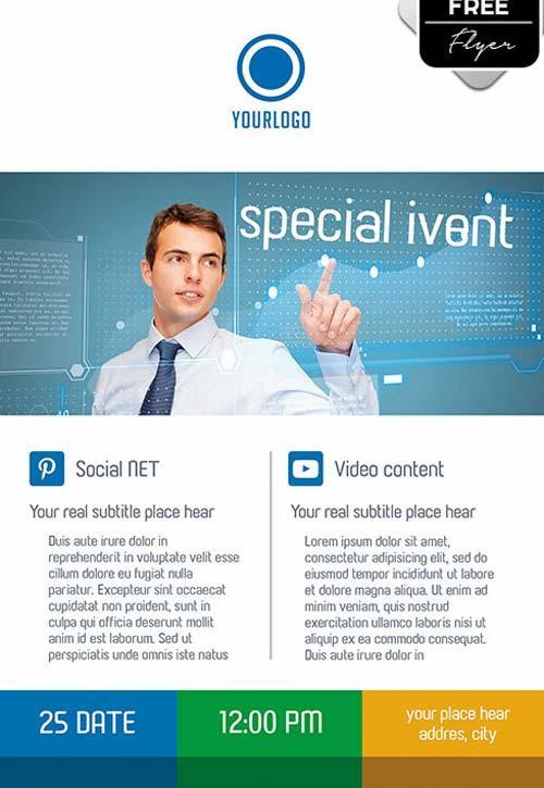 80 Creative  Modern Free Business Flyers Templates Page 2 of 2 - free business flyers templates