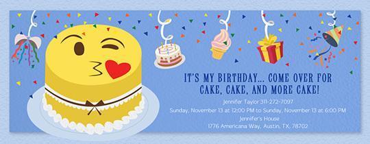 150 Free Printable Birthday Invitation Card Templates