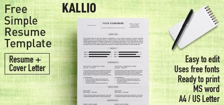 100+ Free Resume Templates  PSD / Word  UTemplates