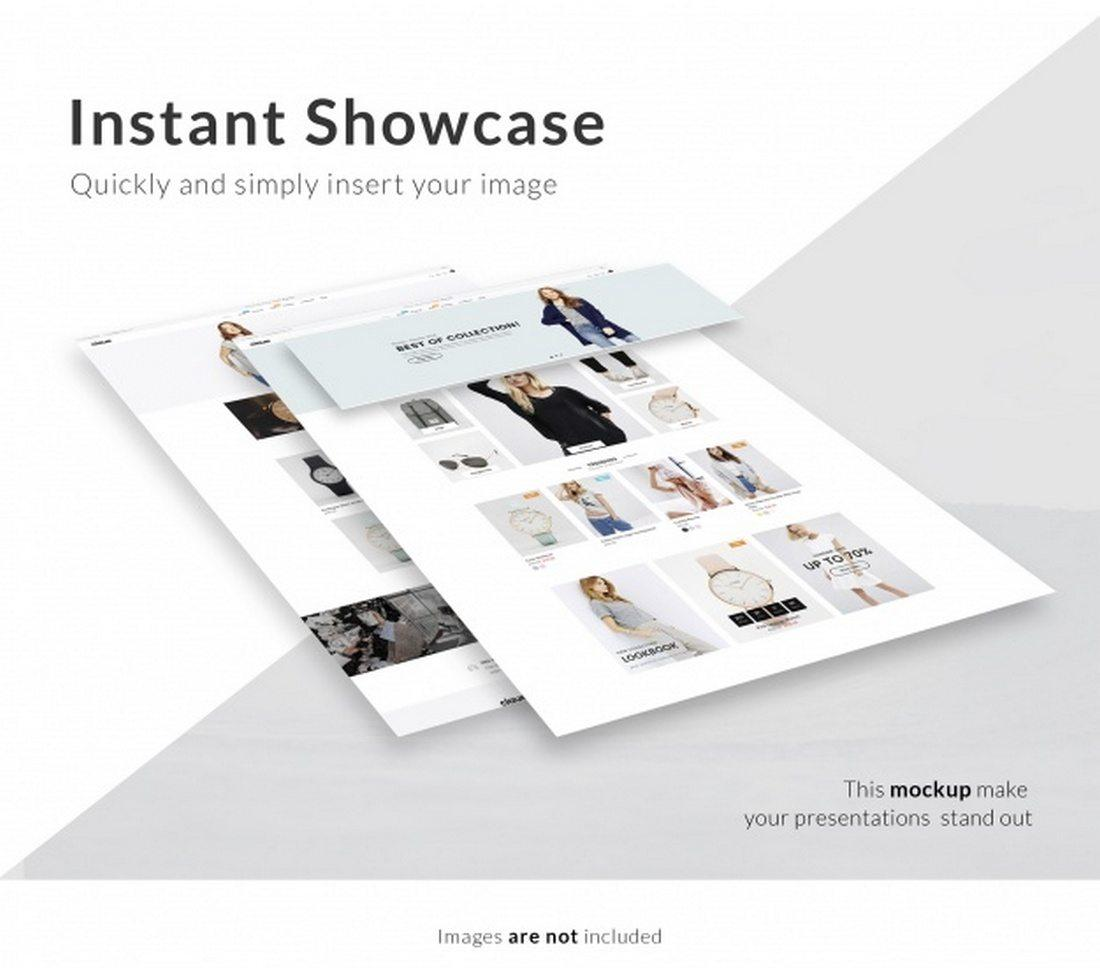 Mockup Free Web Page 30+ Awesome Free Psd Website Mockup Design | Utemplates