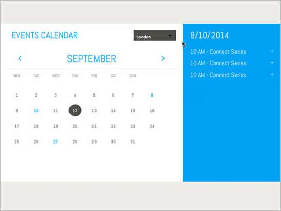 Calendar Template For Website Cvfreeo