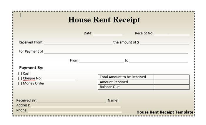 30+ Useful  Free Receipt Templates UTemplates
