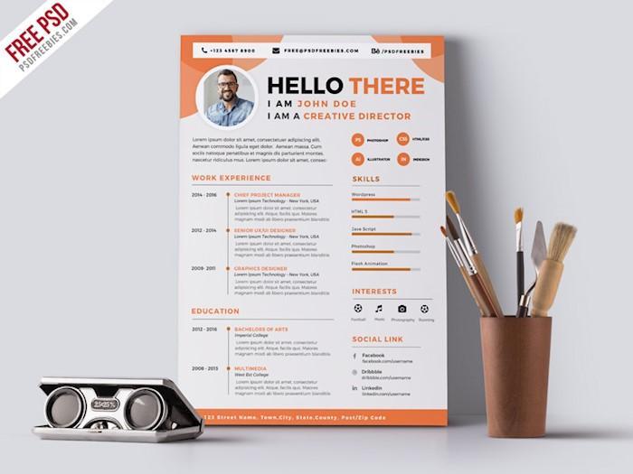 resume design 2018 - Alannoscrapleftbehind