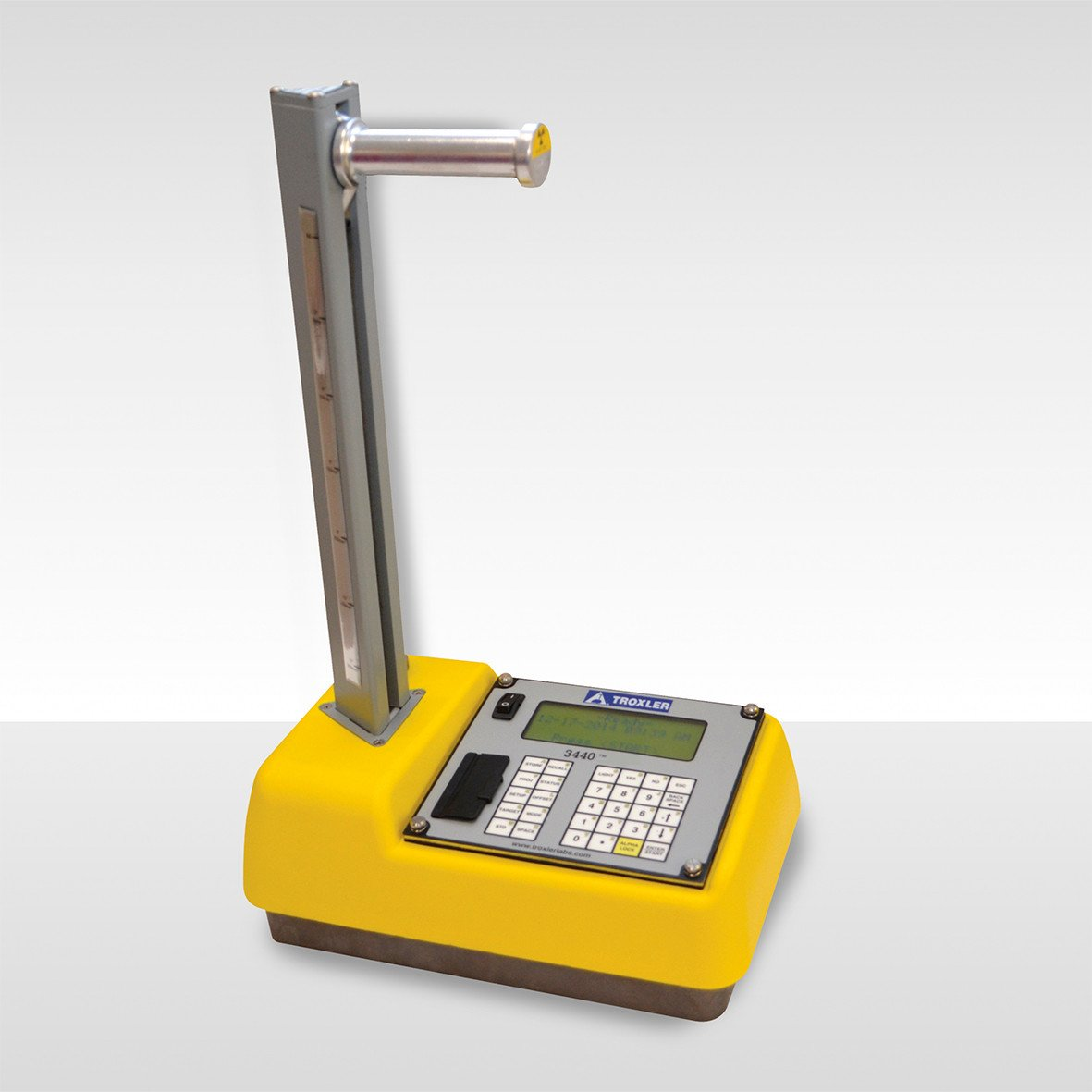 Density Testing Roadreader Nuclear Density Gauges Compacted Road Base And