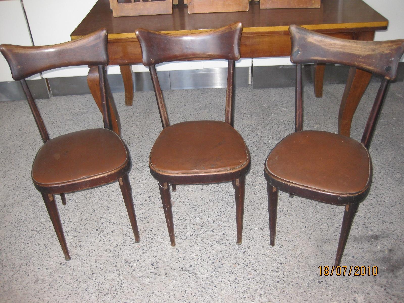 Sedie Vintage Anni 50 : Sedie vintage usate sedie anni utileusato