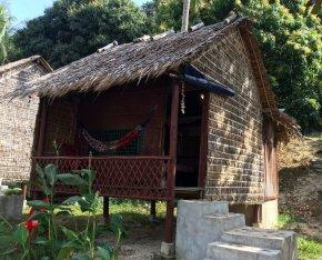 Notre bungalow sur l'île du lapin