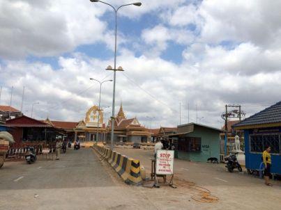 Frontière : côté cambodgien