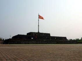 L'entrée de la citadelle de Hué