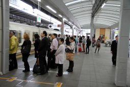 On fait aussi la queue à Kobe