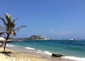 Les belles plages du parc Tayrona
