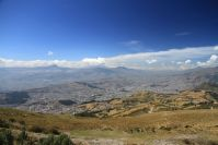 Quito depuis le sommet du Teleferico