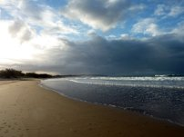 La plage de Agnes Waters