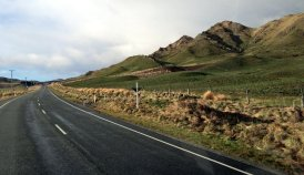 Sur la route de Te Anau, au sud-ouest