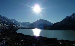 Le lac Tasman et son glacier