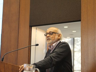A photo of Centre of South Asian Studies event on 1 October, 2015 | Image: Asian Institute, University of Toronto