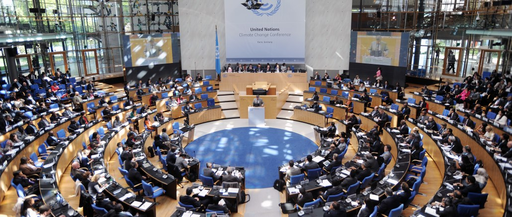 A photo of the Bonn Climate Change Conference in May 2016 at Bonn, Germany I Images: United Nations Framework Convention on Climate Change