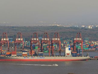 Jawaharlal Nehru Port is the largest container port in India I Image: Jargan Josh